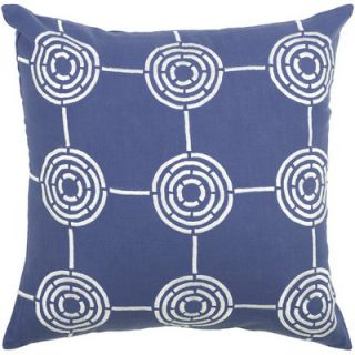 Rizzy Home T 3561 18 Decorative Pillow in Blue