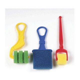 Chenille Kraft Foam Brush Classpack 18 Brushes