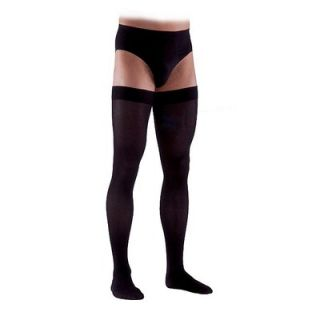 Sigvaris 230 Cotton Series 20 30 mmHg Mens Closed Toe Thigh High Sock
