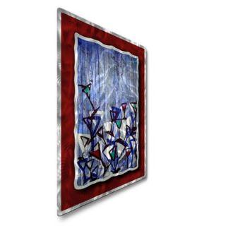 My Walls Martini Glasses Abstract Wall Art   23 x 32   FOO00100