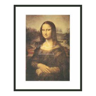 Frames By Mail Mona Lisa by Da Vinci Framed Print   32 x 24