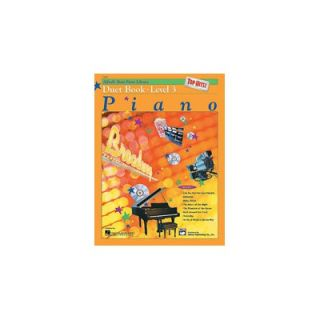 Alfred Publishing Basic Piano Course Top Hits Duet Book 3