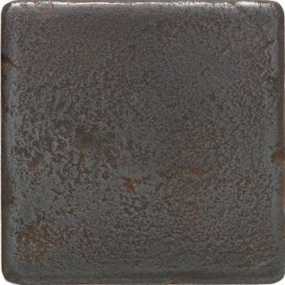 Daltile Castle Metals 4 x 4 Decorative Wall Tile in Wrought Iron