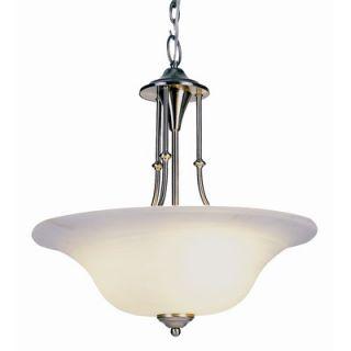 TransGlobe Lighting Contemporary 3 Light Pendant   6543 BN / 6543 WB