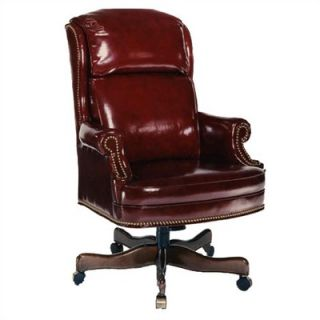 Distinction Leather Bustle High Back Leather Executive Chair