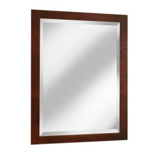 Coastal Collection Vintage Series 24 x 33 Maple Framed Mirror in