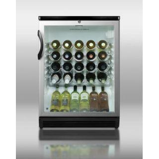 Summit Appliance 33.5 x 23.63 Wine Cellar with Black Cabinet