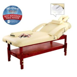 Master Massage 31 Spa Stationary LX Massage Table in Cream