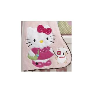 Bedtime Originals Hello Kitty and Puppy Blanket
