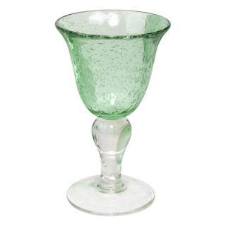 Artland Iris Wine Glass in Light Green (Set of 4)