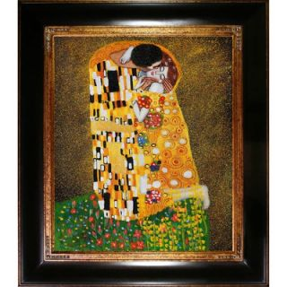 Art by Gustav Klimt Modern   35 X 31 in Opulent Frame