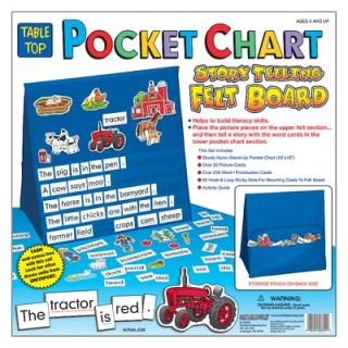 Patch Products Storytelling Felt Board Pocket Chart (On the Farm