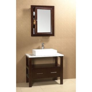 Ronbow Vintage Bordeaux 36 Bathroom Vanity