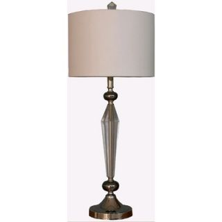 Lite Source 32 x 14.5 Table Lamp in Gun Metal   LS 21419