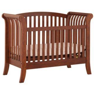 Status Furniture 600 Series Convertible Crib in Walnut   600 34