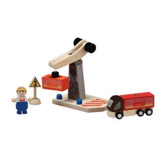 Plan Toys City Tower Crane Set