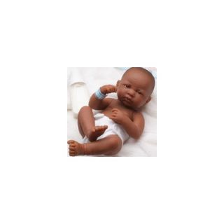 JC Toys La Newborn African American (Real Girl) Doll