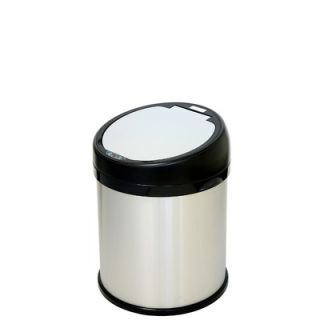 Stars 11.1 Gallon Stainless Steel Motion Sensor Trash Can   DZT 42 9