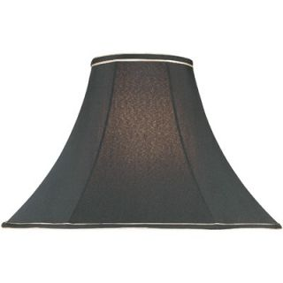 Lite Source Gold Trim Bell Lamp Shade in Black   CH1138 15 / CH1138