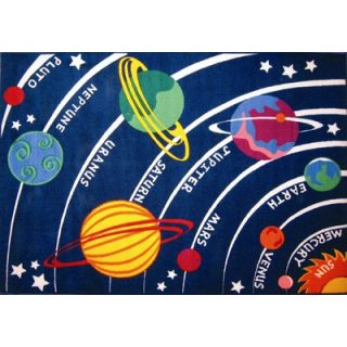 Fun Rugs Fun Time Solar System Classroom Kids Rug   FT   170