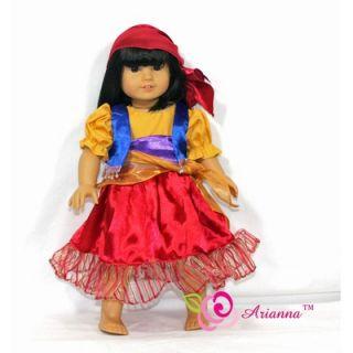 Arianna Esmeralda Gypsy Costume