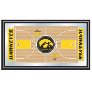 Trademark Global Iowa Basketball Framed Full Court Mirror