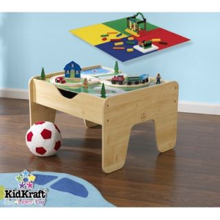 KidKraft 2 in 1 Lego and Train Activity Table