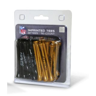 Team Golf NFL Imprinted Golf Tee   Pack of 50   6375563 Tee Pack