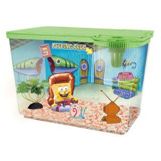 Nickelodeon SpongeBob SquarePants New Living Room Aquarium Kit
