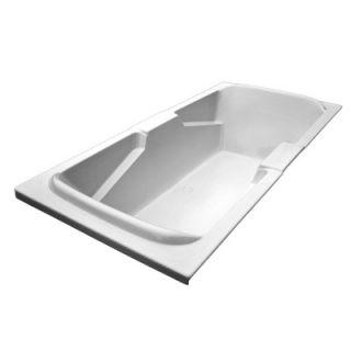 American Acrylic 72 x 36 Air Massage Arm Rest Bath Tub