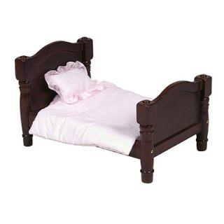 Guidecraft Doll Bed in Espresso