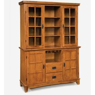 Home Styles Arts and Crafts China Cabinet   5180 69 / 5180 307