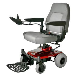 Shoprider Jimmie Power Chair with Captain Seat in Red   UL8 W PB