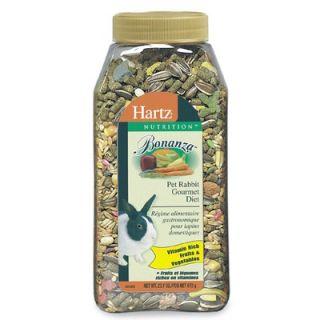 Hartz Nutrition Bonanza Gourmet Rabbit Diet (23.75 Oz)
