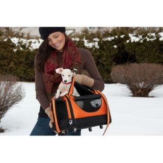 Pet Gear World Traveler Tote Bag Pet Carrier in Tangerine