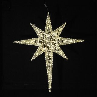 Holiday Lighting Specialists 72 Moravian Star in Warm White   1569