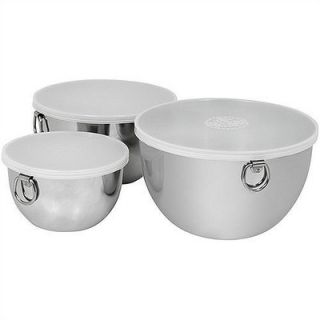 Revere Cookware 3 Piece Mixing Bowl Set