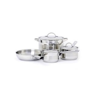 Cuisinox Gourmet 3 Ply Stainless Steel 7 Piece Cookware Set