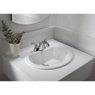 Kohler Bryant Oval Self Rimming Bathroom Sink