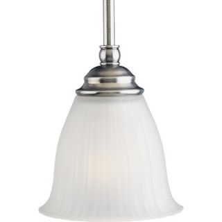 Renovations 1 Light Stem Hang Mini Pendant   P5104 77/P5104 81