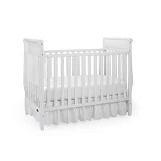 Graco Sarah Classic Two Piece Convertible Crib Set in White
