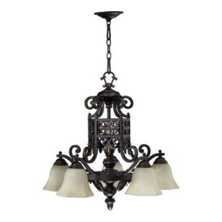 Quorum Marcela 5 Light Nook Chandelier   6431 5 86