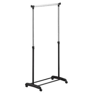 OIA Ultra Capacity Adjustable Garment Rack in Black and Chrome