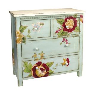 Sterling Industries Flora and Fauna Chest   84 0821