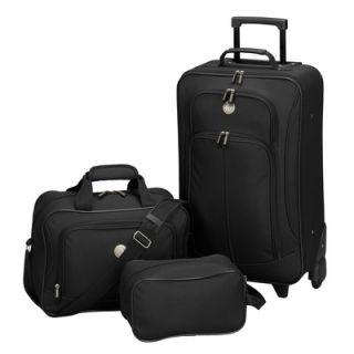 Travelers Club EuroValue II 3 Piece Rolling Luggage Set   EVA 12003