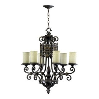 Quorum Marcela 6 Light Chandelier   6131 6 86