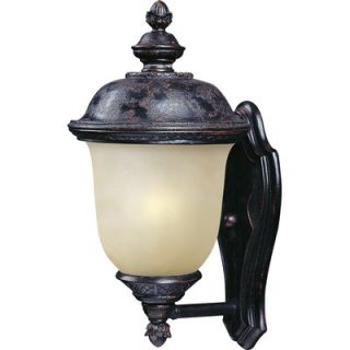 Maxim Lighting Carriage House Small Outdoor Wall Lantern in Oriental