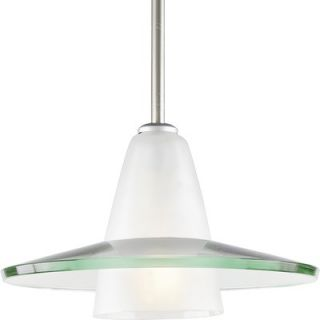 Progress Lighting 1 Light Stem Hang Pendant   P5011 09