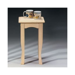 Unfinished Wood End Tables