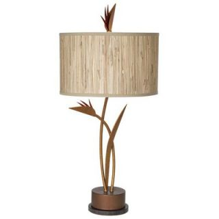 Pacific Coast Lighting Bird of Paradise Table Lamp in Antique Copper
